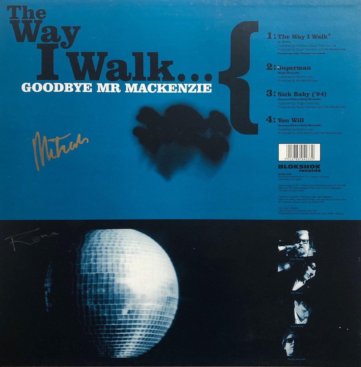 "Image of Original Signed 'THE WAY I WALK' 12"" Vinyl EP"