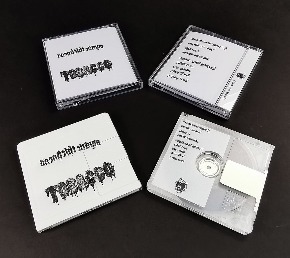 "Image of TOBACCO ""Mystic Thickness"" MiniDisc"