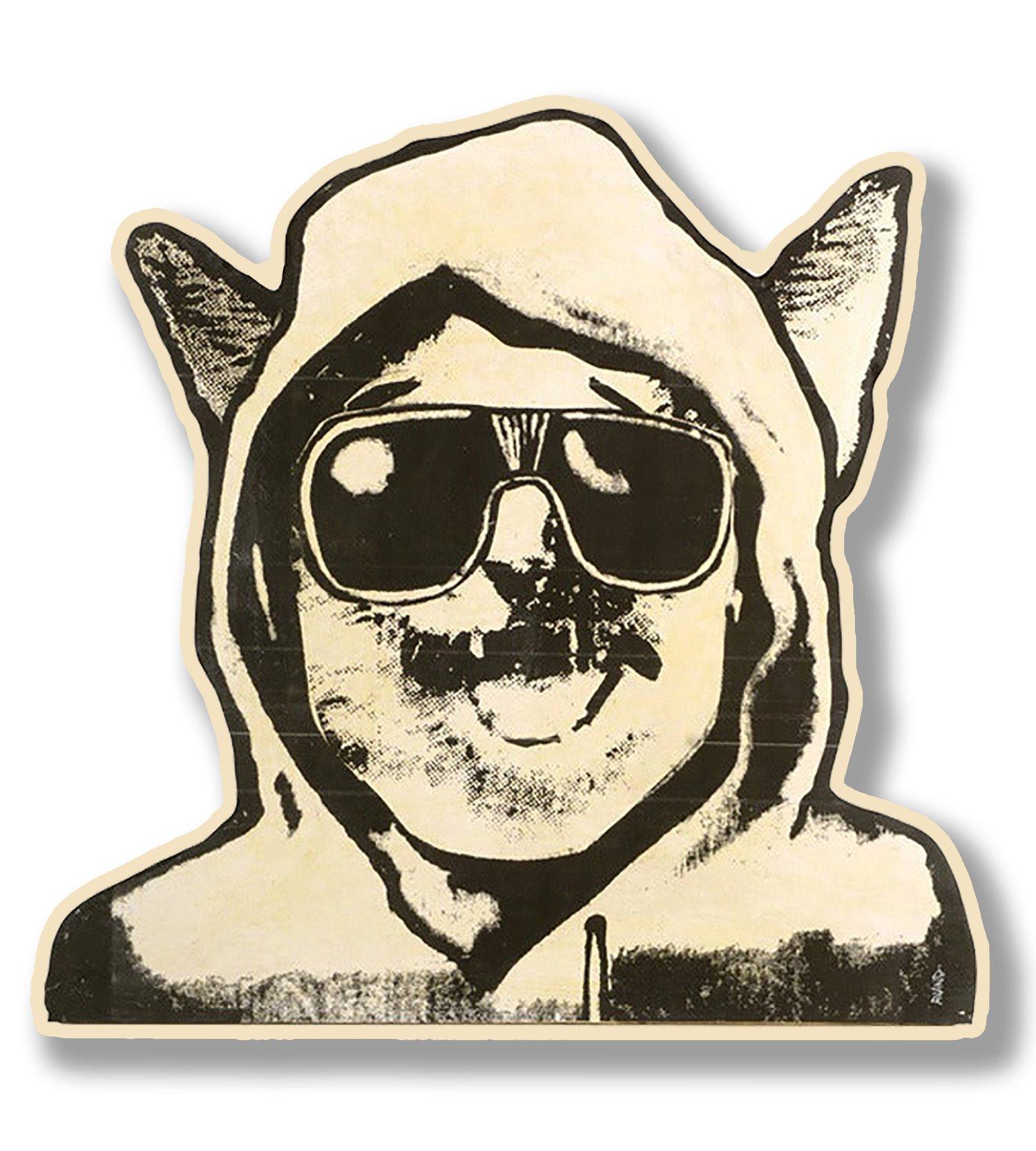 Image of Unaspeckles Print On Wood