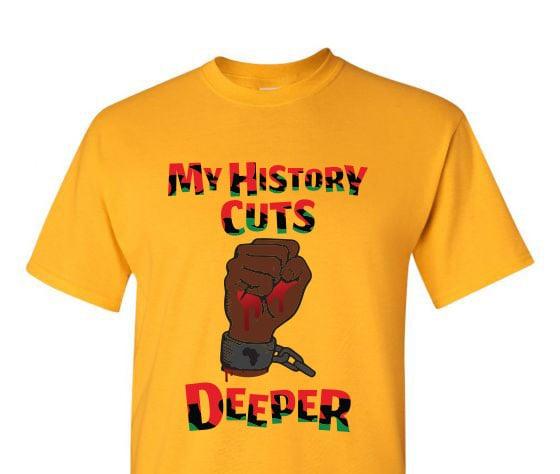 Image of History Cuts Deep Crop Top