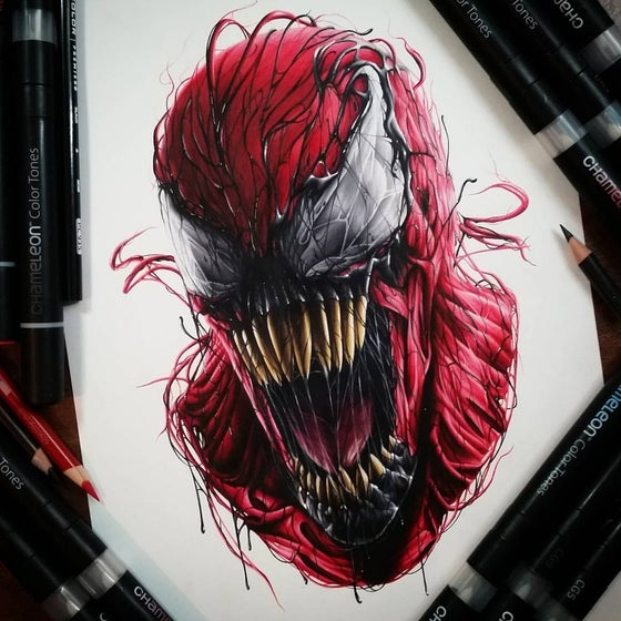 Image of Limited edition Carnage prints