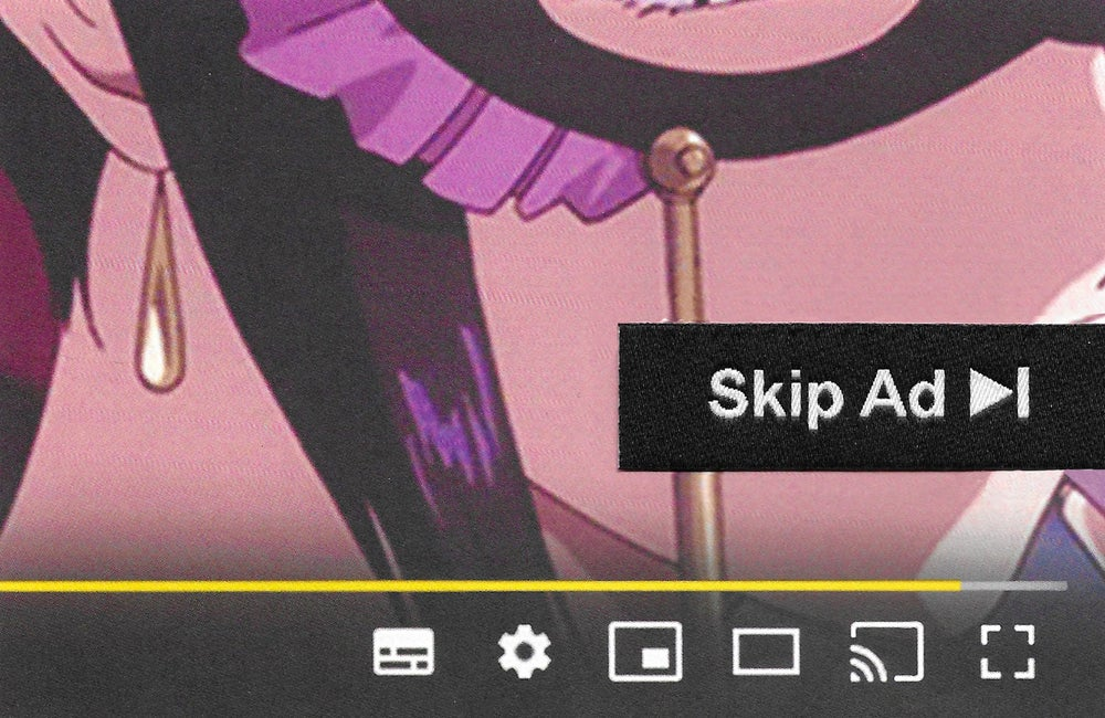 Image of Skip Ad Patch