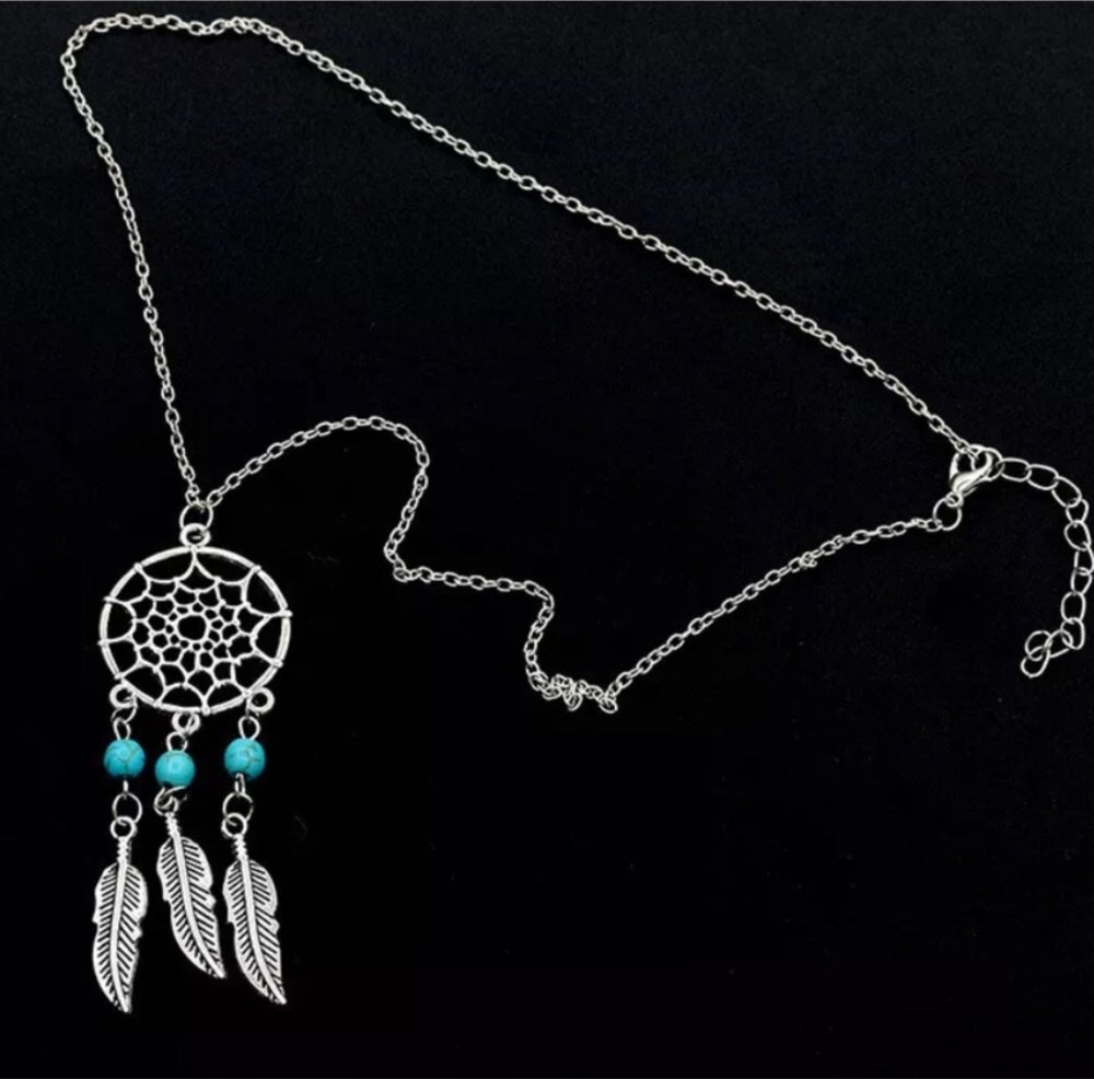 Image of DREAM CATCHER NECKLACE