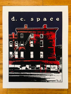 "Image of DC Space Silk Screened Art Print - 11""x14"""
