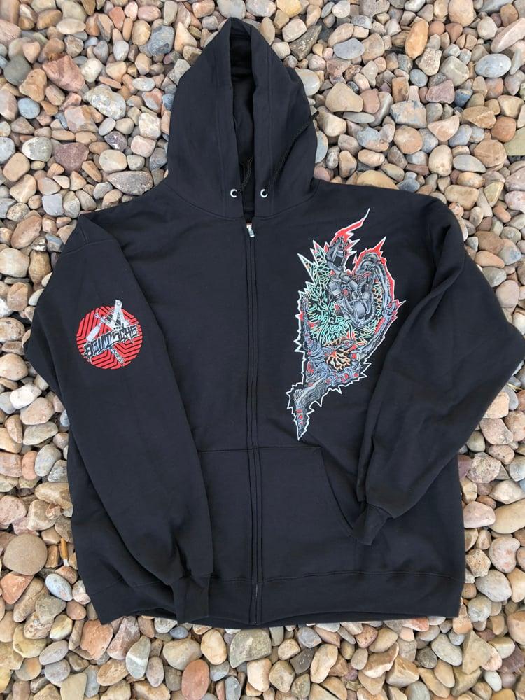Image of Dragon Zip Hoodie