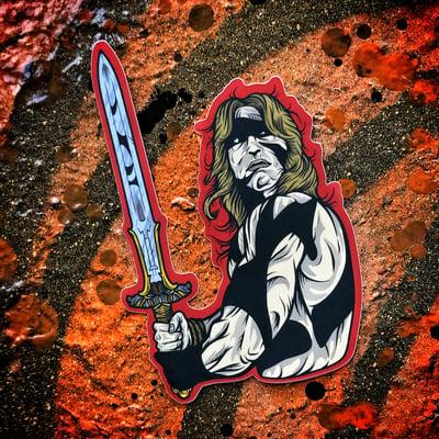 Image of Conan sticker