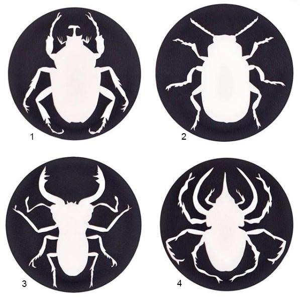 Image of beetle coasters