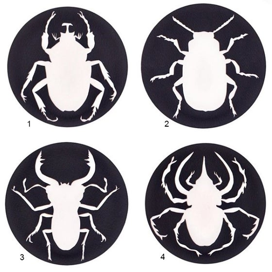 Image of beetle coasters