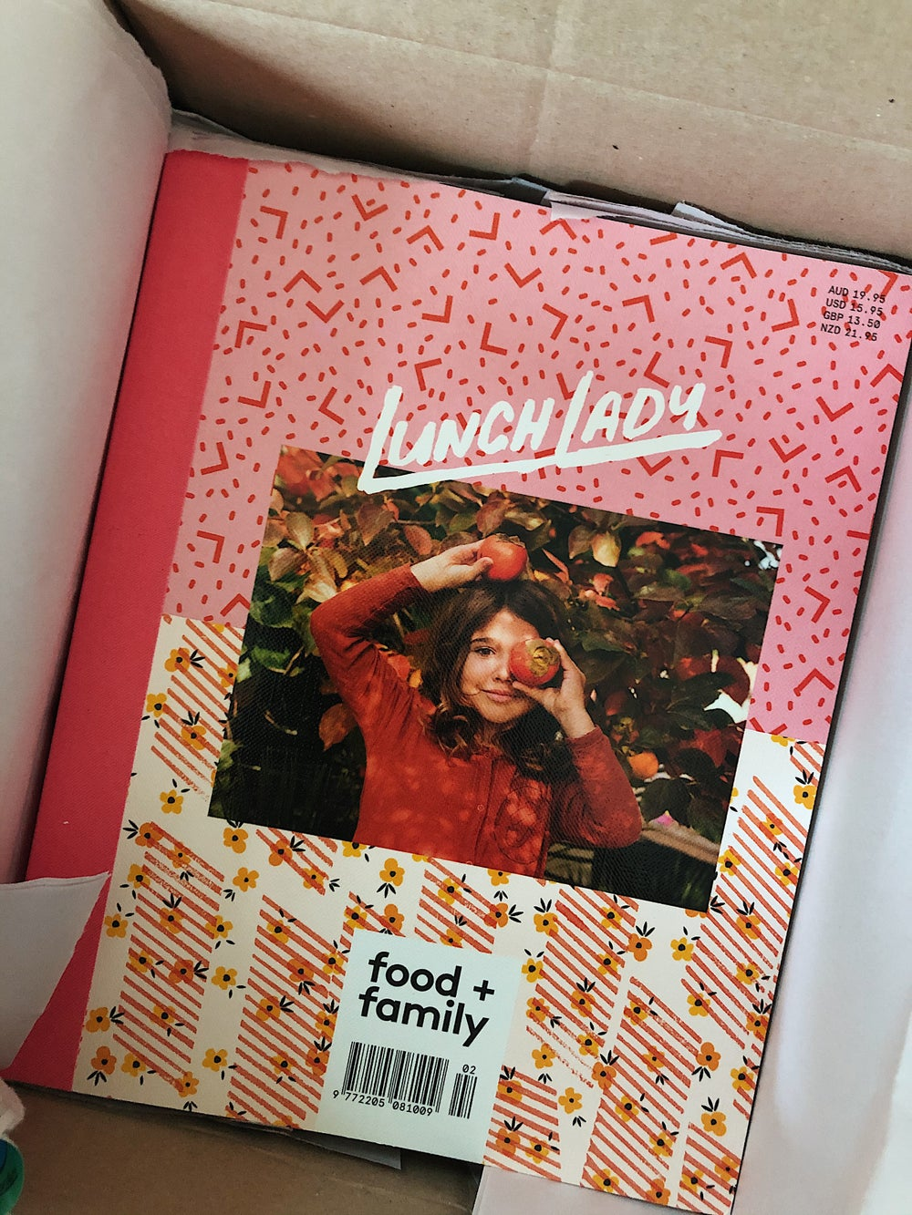 Image of LUNCH LADY MAGAZINE