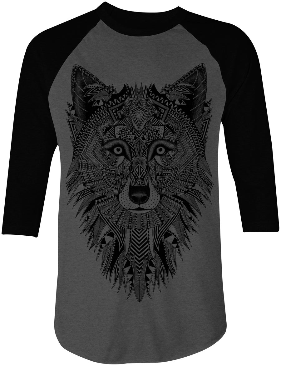 Image of Gray Wolf BBall Tee