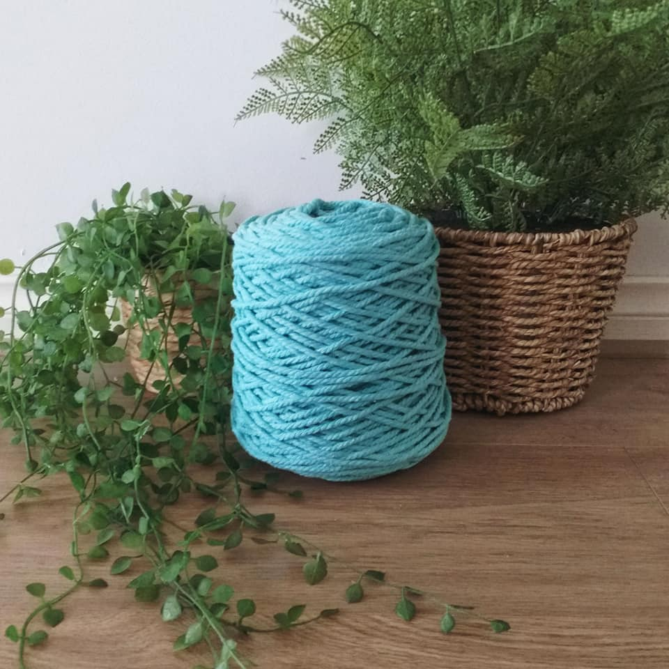 Image of 1kg Mint 3ply Rope