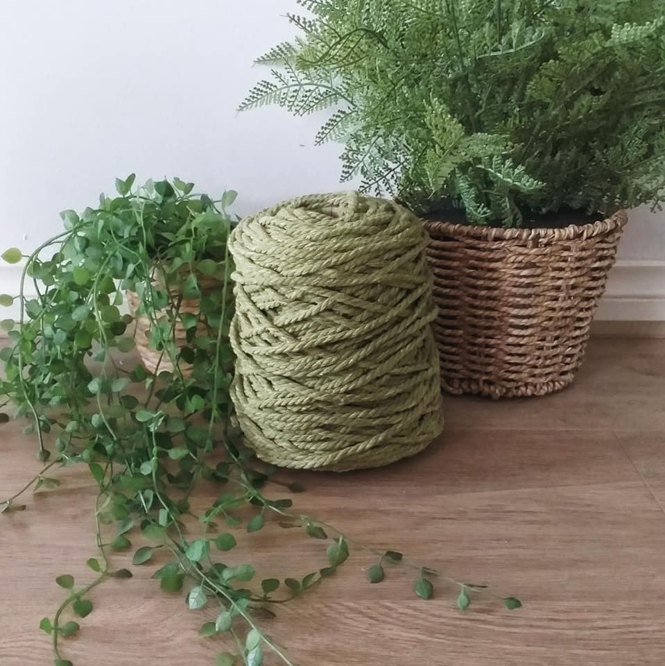 Image of 1kg Pistachio 3ply Rope