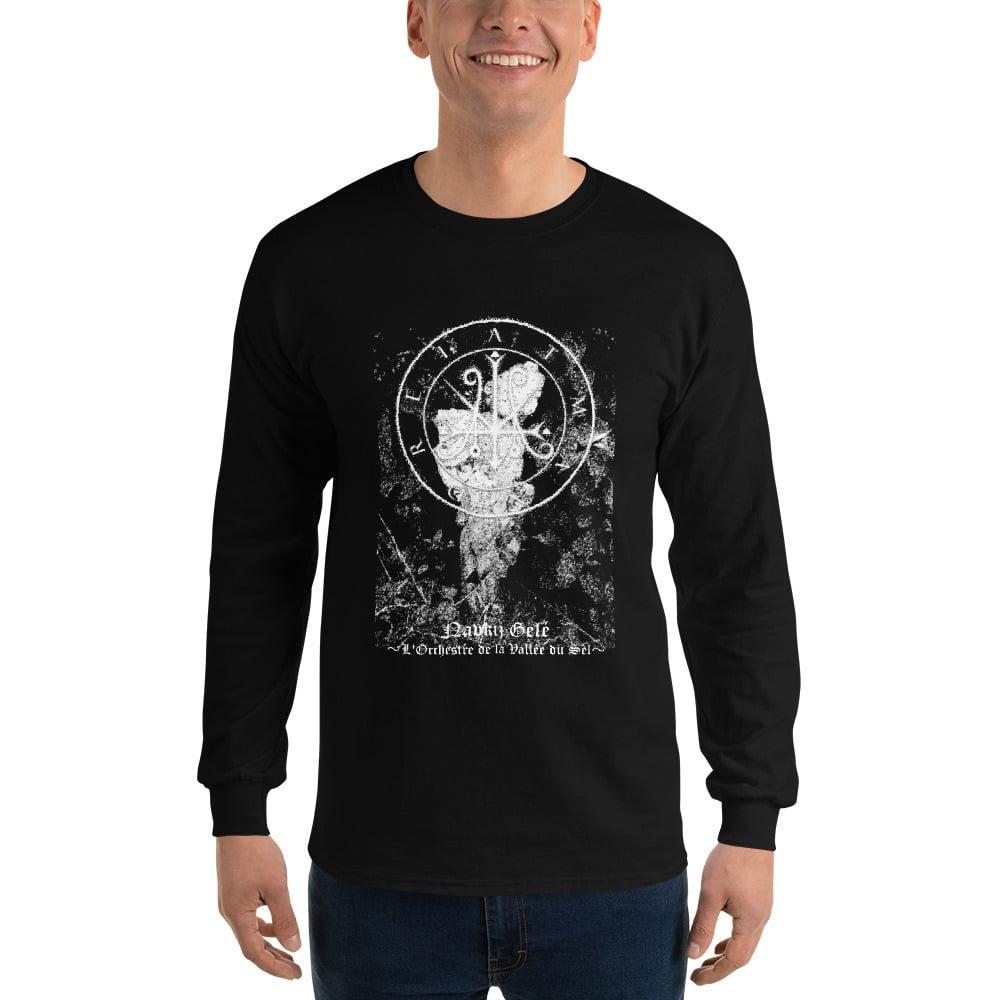 "Image of Atman Drei Demo II  ""Navkij Gelé ~L'Orchestre de la Vallée du Sel~"" Long Sleeve T-Shirt"