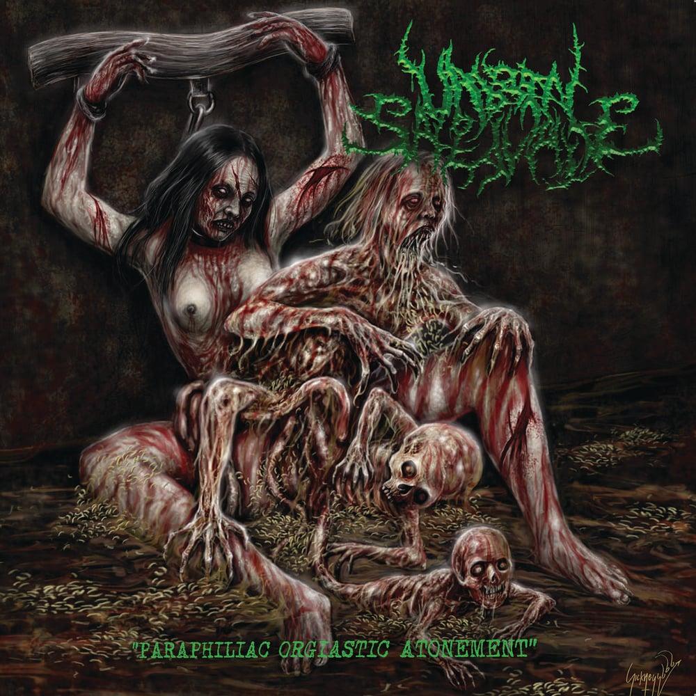 """Image of UNBORN SALIVATE """"Paraphiliac Orgiastic Atonement"""" CD"""