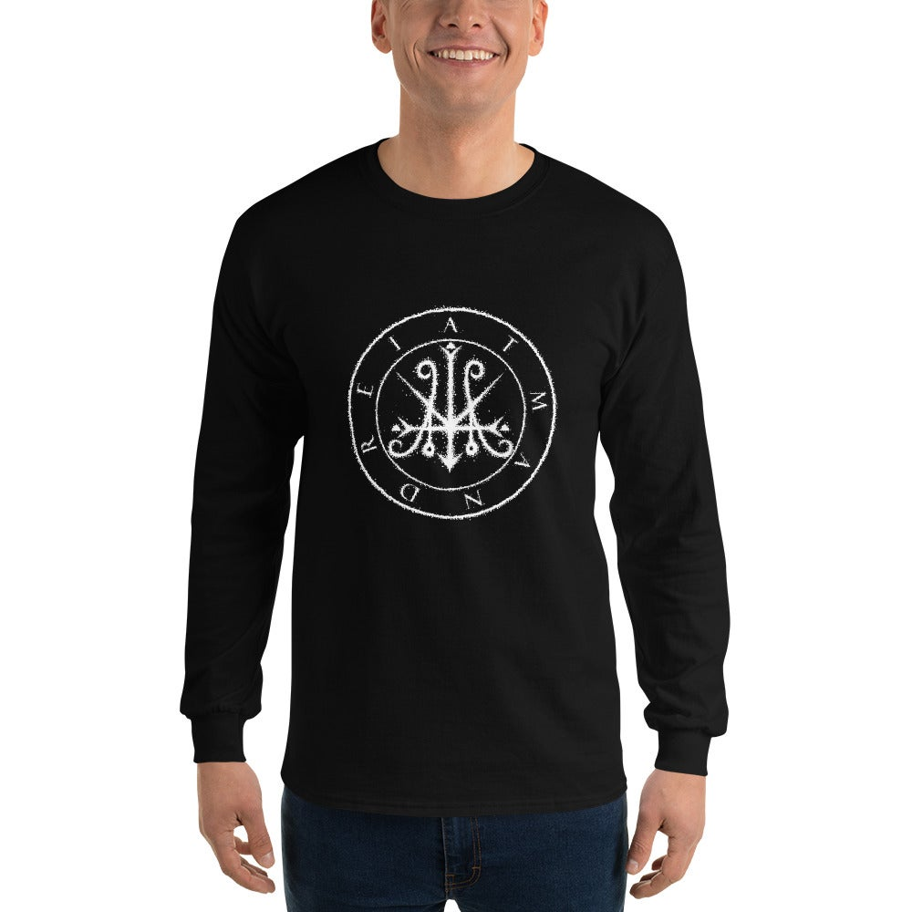 Image of Atman Drei Logo Long Sleeve  T-Shirt