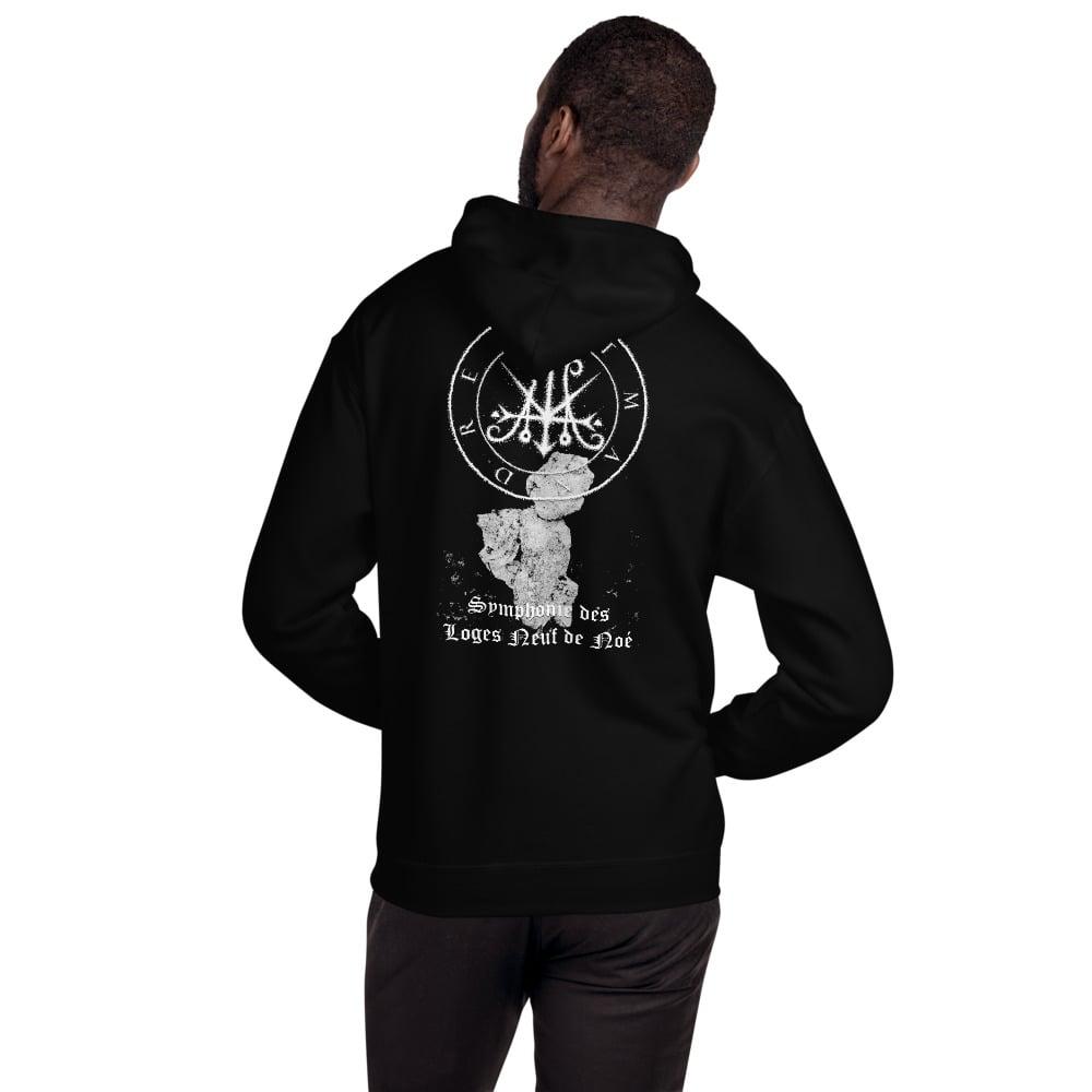 """Image of Atman Drei Demo I """"Symphonie des  Loges Neuf de Noé"""" Hooded Sweatshirt"""