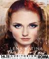 Flyer Lena Katina LIVE in Rome November 14th 2014