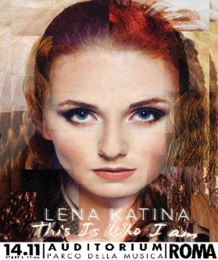Image of Flyer Lena Katina LIVE in Rome November 14th 2014