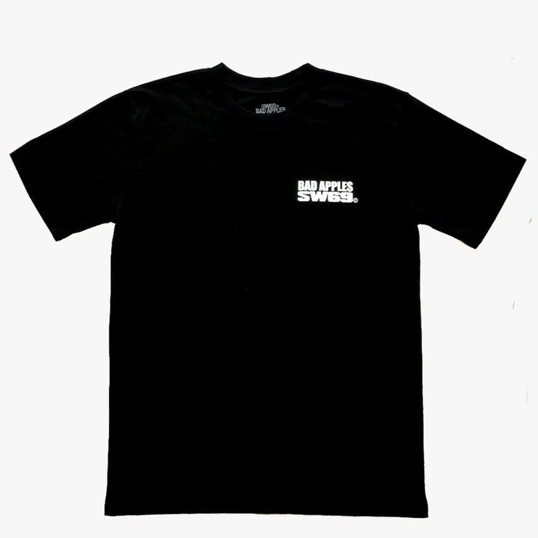 Image of BAD APPLES x SW69 LOGO TEE