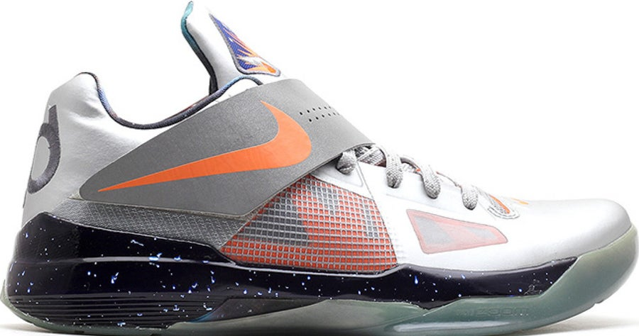 "Image of Nike Zoom KD 4 AS ""ALL STAR  GALAXY"" SZ 11"