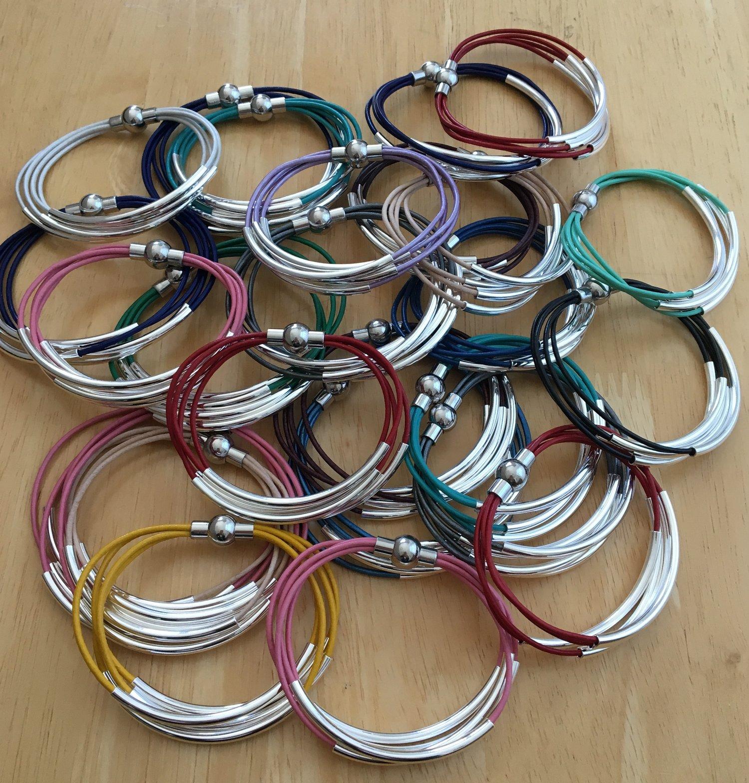 Image of Leather Bracelet