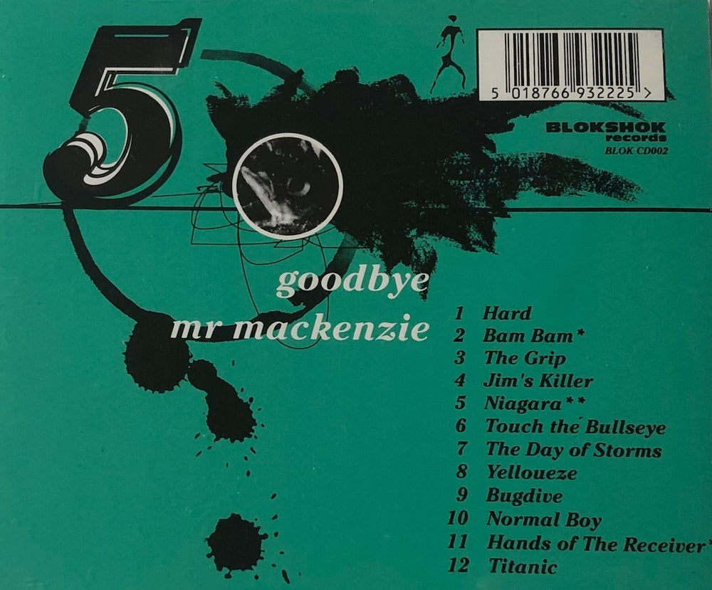 Image of 'FIVE' by Goodbye Mr Mackenzie on CD