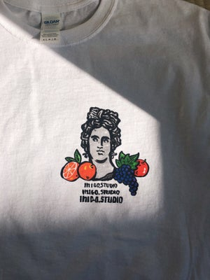 GREEK FRUIT- WHITE T