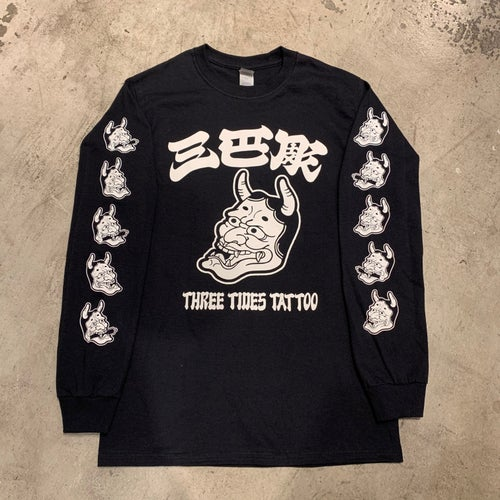 Image of MITOMOBORI HANNYA LONG SLEEVE T