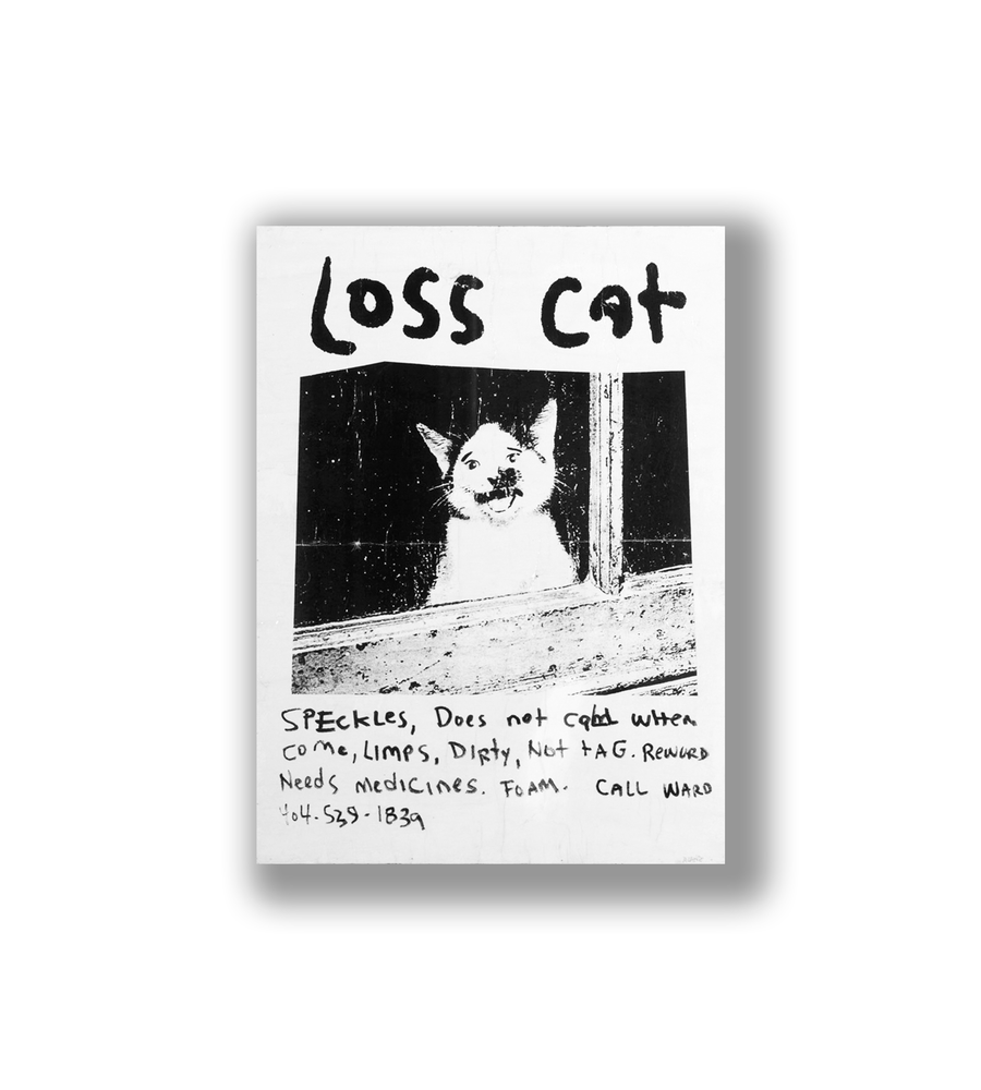 Image of Loss Cat Jr. Wall Art
