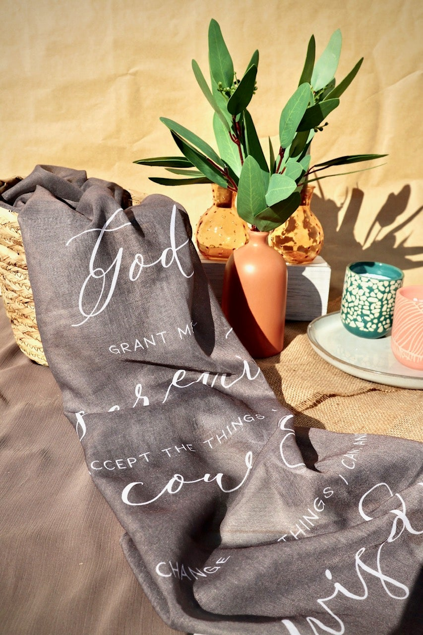 Image of Prayer Spring/Summer Scarf