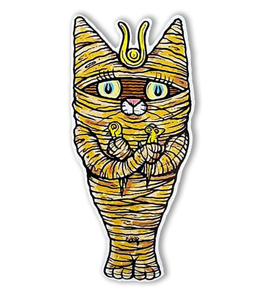 Image of Mummy Cat Wall Art