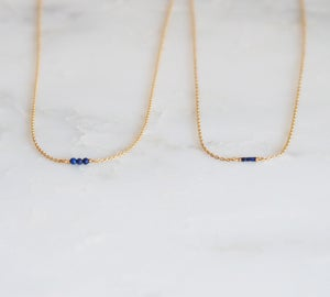 Image of Clandestine - Ras de cou Eva - Lapis Lazuli