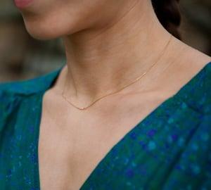 Image of Clandestine - Ras de cou Eva - Turquoises