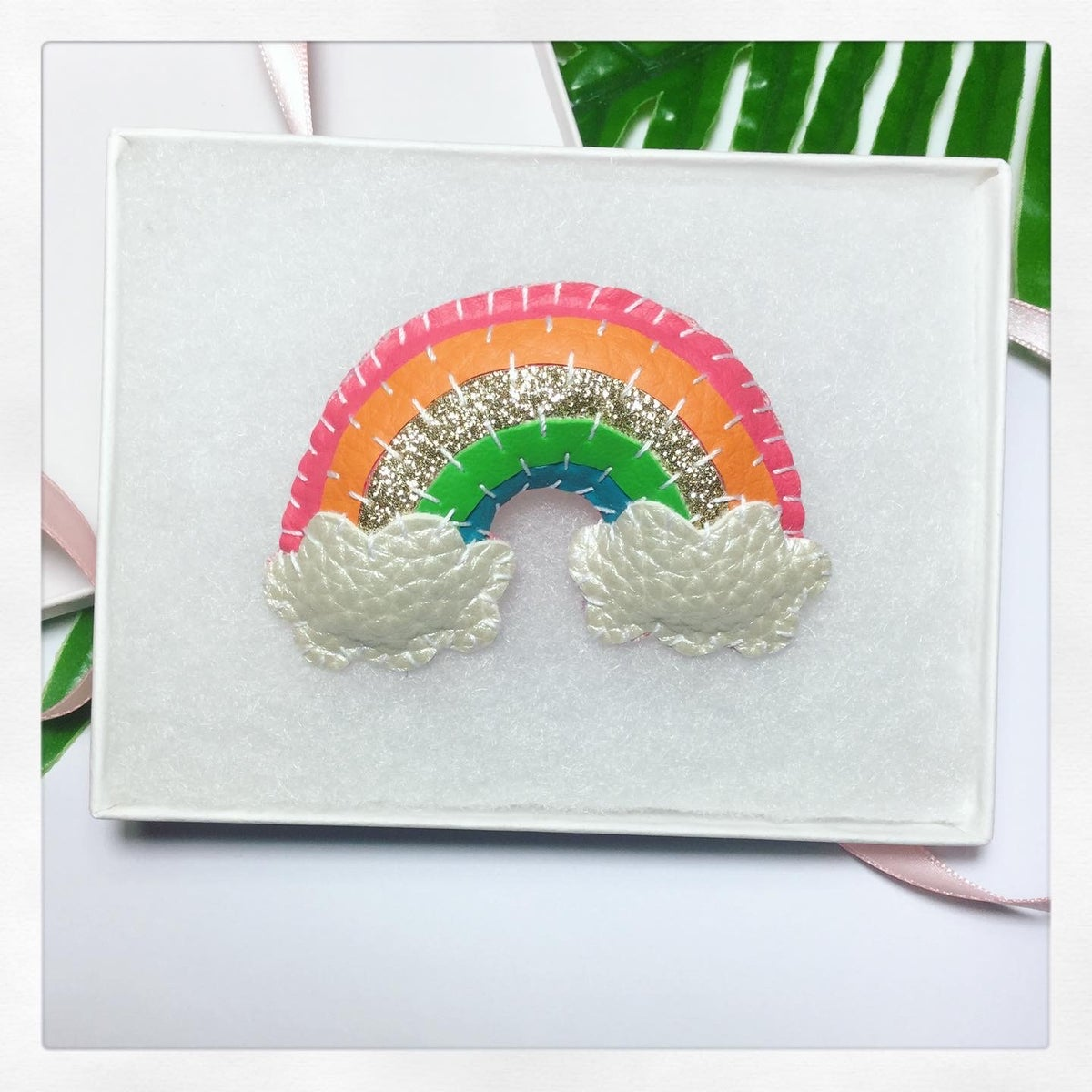 Image of Rainbow Brooch