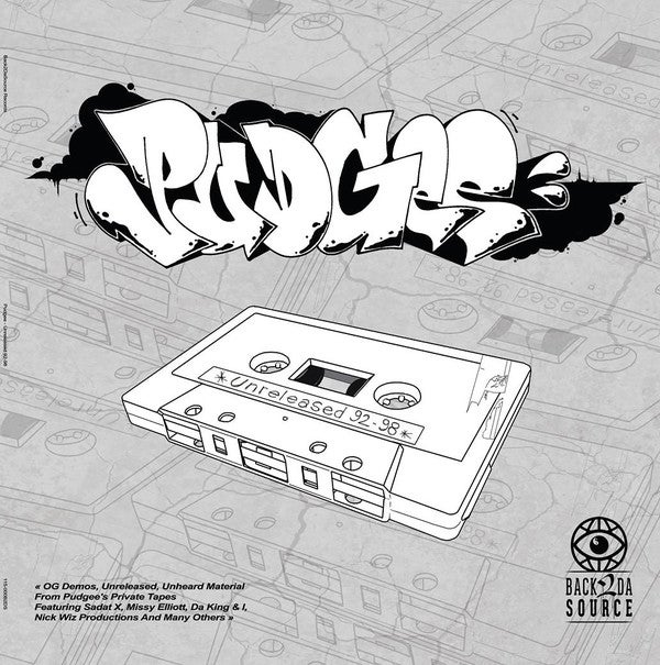 Image of Pudgee - Unreleased 92-98 (CD, SOLD OUT)