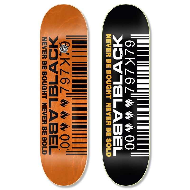 """Image of """"Barcode"""" 8.5″ x 32.38″deck"""