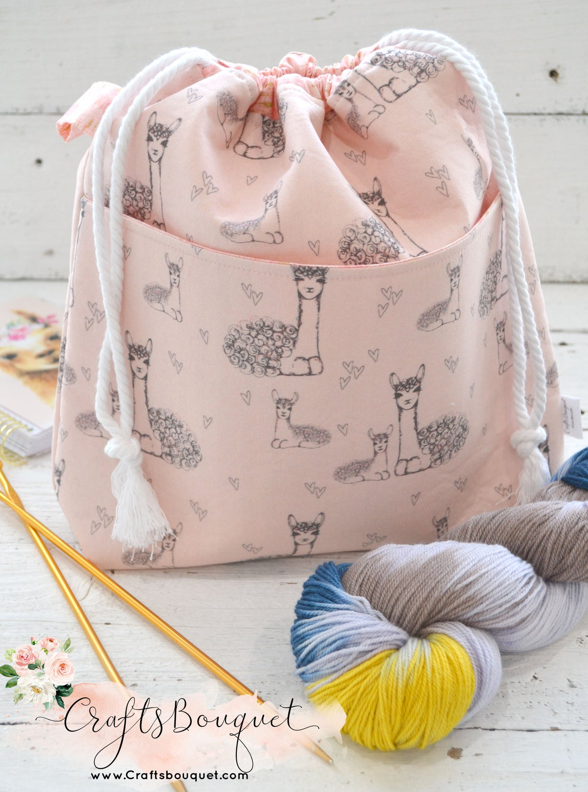 Image of Drawstring Project Bags