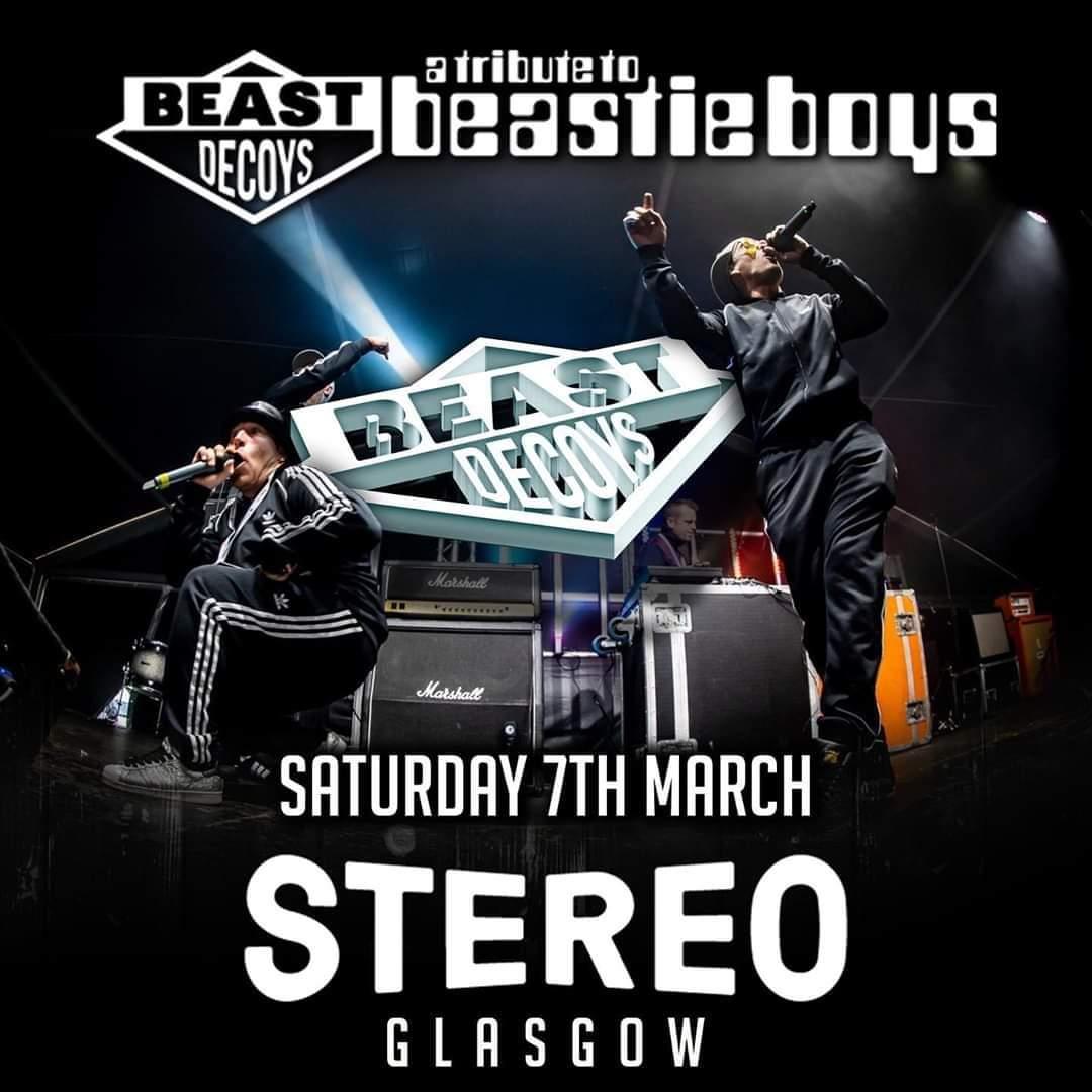 Image of Stereo , Glasgow w/Beast Decoys