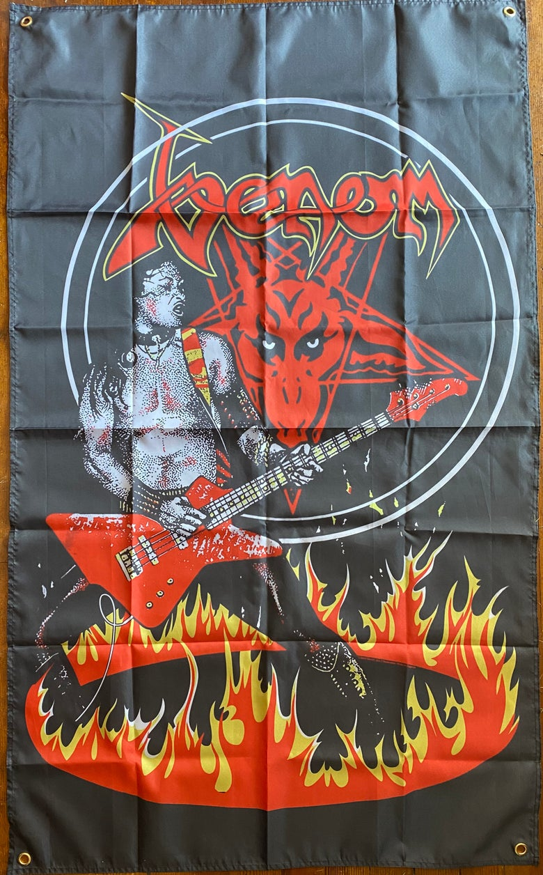 "Image of Venom "" Cronos Fire ""  - Banner / Tapestry / Flag"