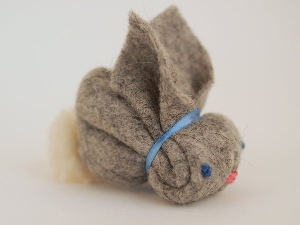 Image of Felt bunny