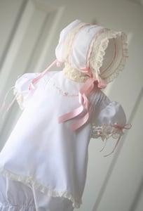 Image of 2T Brierley Diaper Set & Bonnet