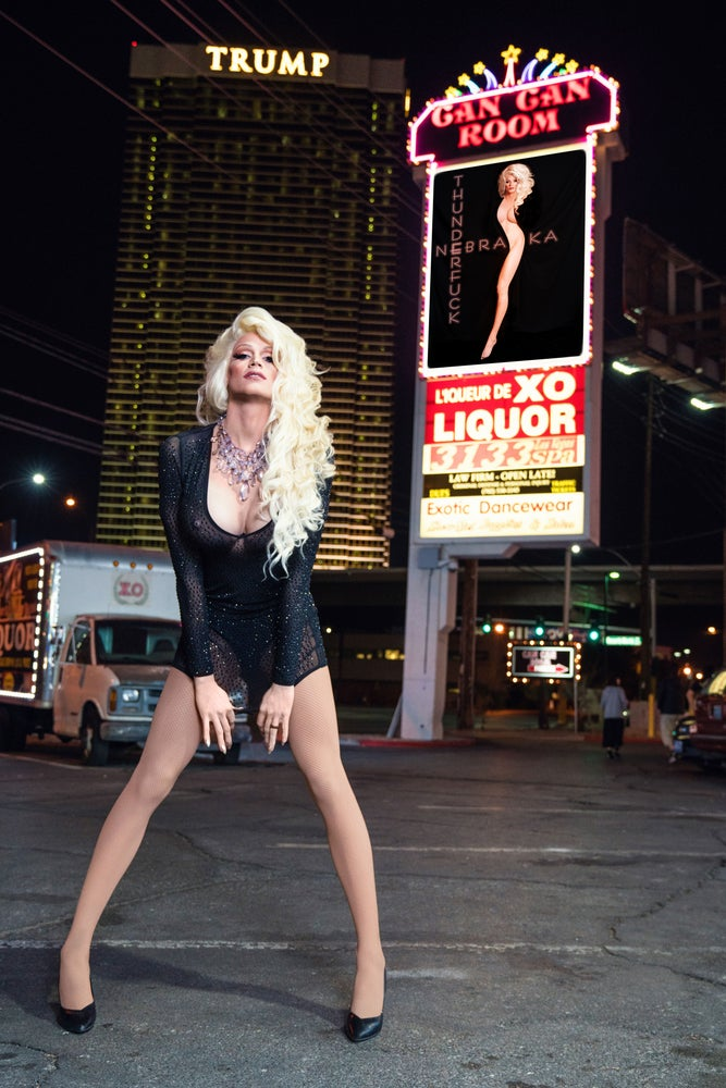 Image of Nebraska X Joe Tholt: Showgirl
