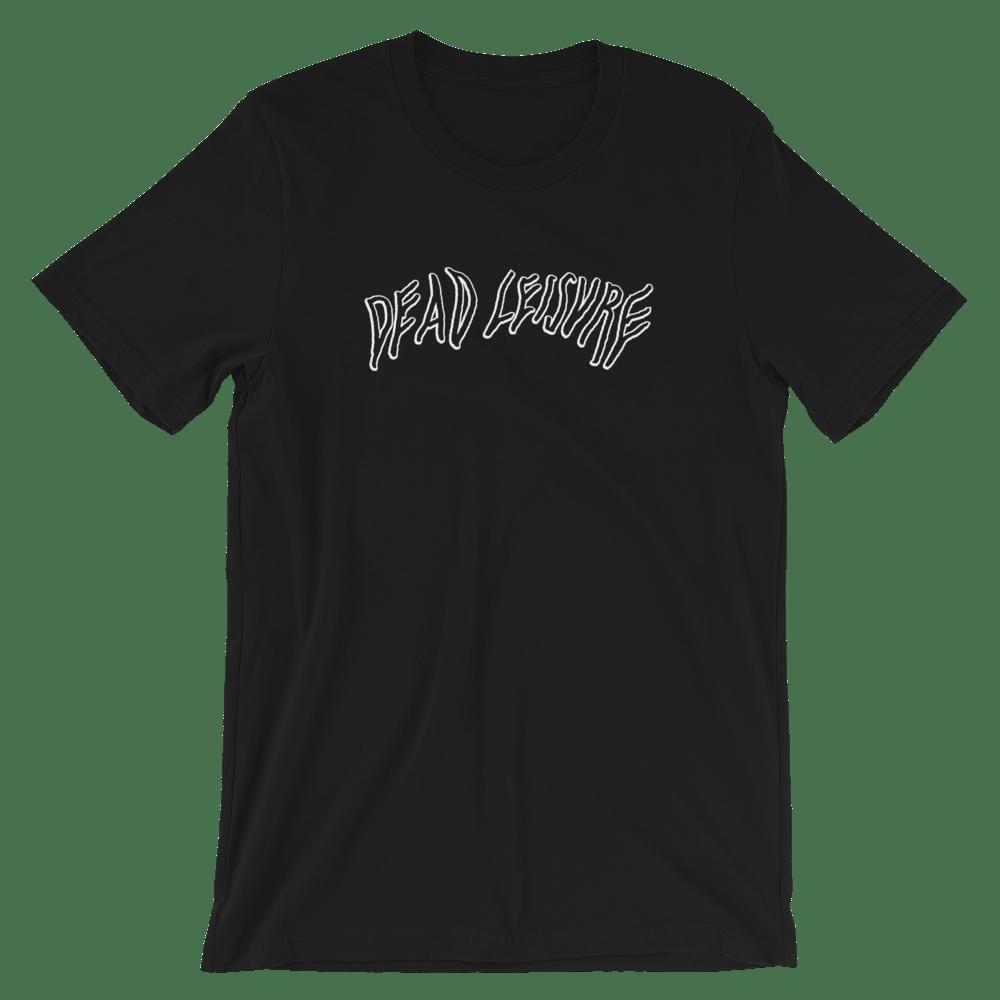 Dead Melt logo T-shirt - Black