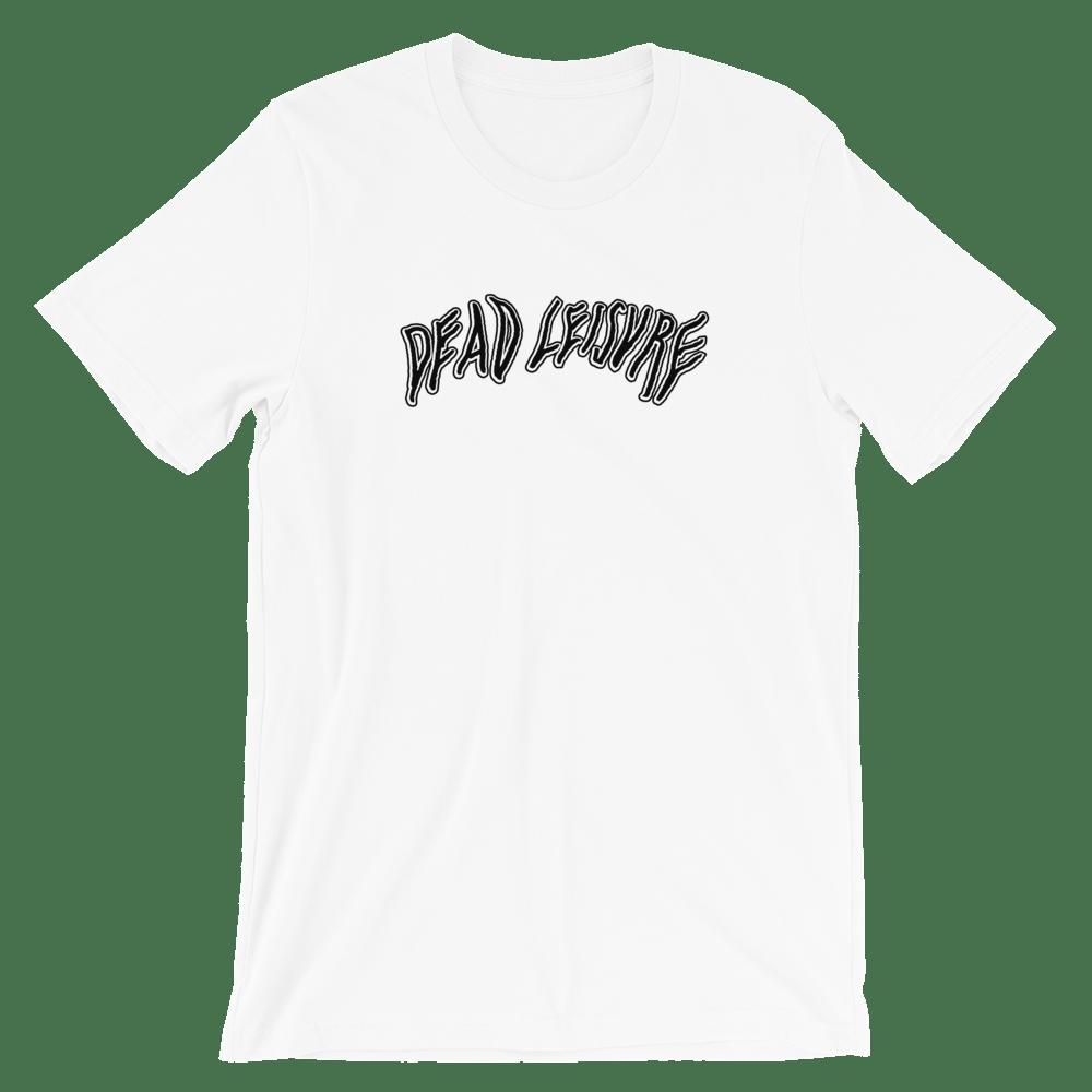 Dead Melt logo T-shirt - White