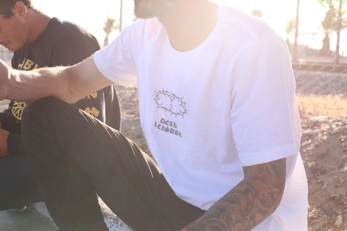 Crown of Thorns Tee - White