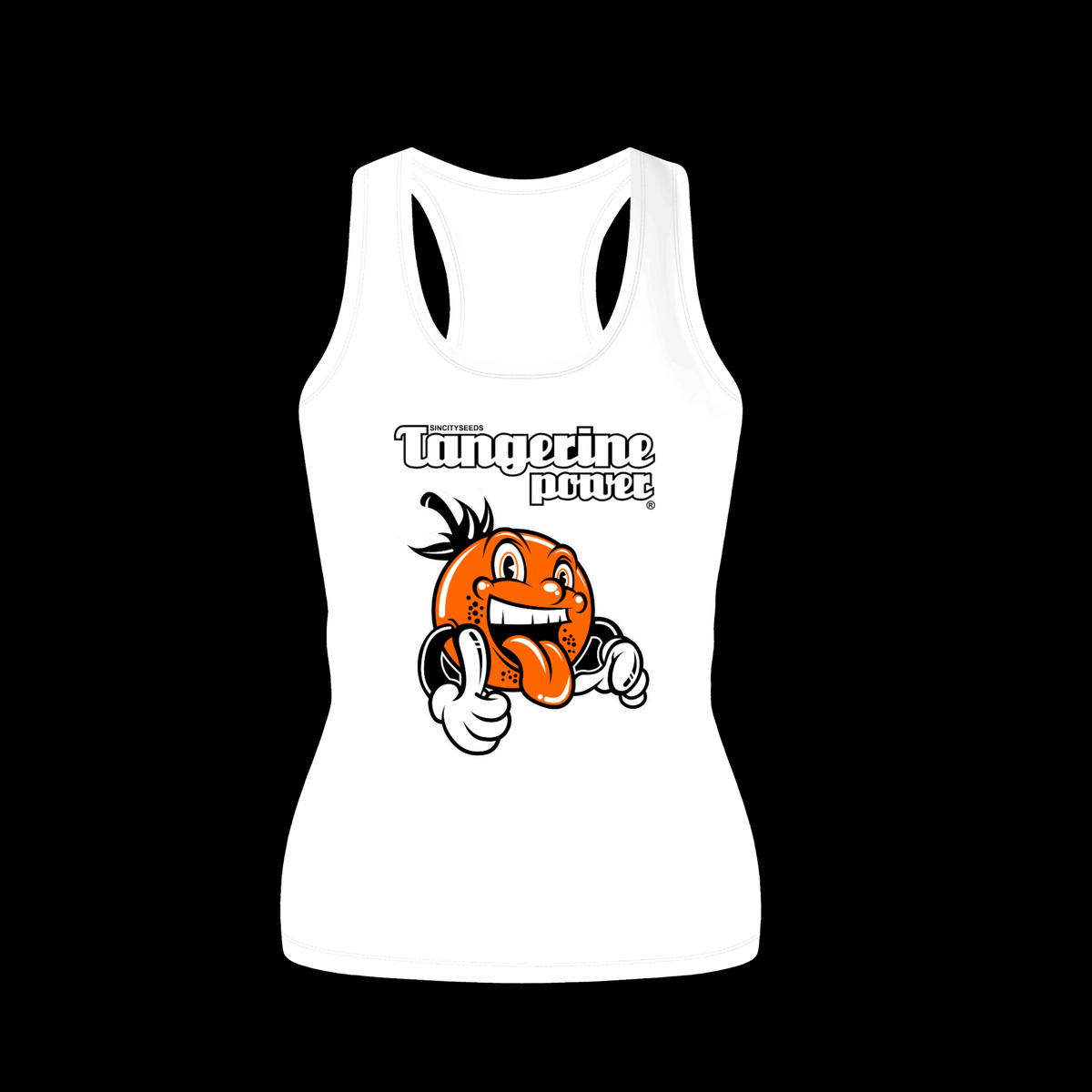 Tangerine Power Women's Tank Top