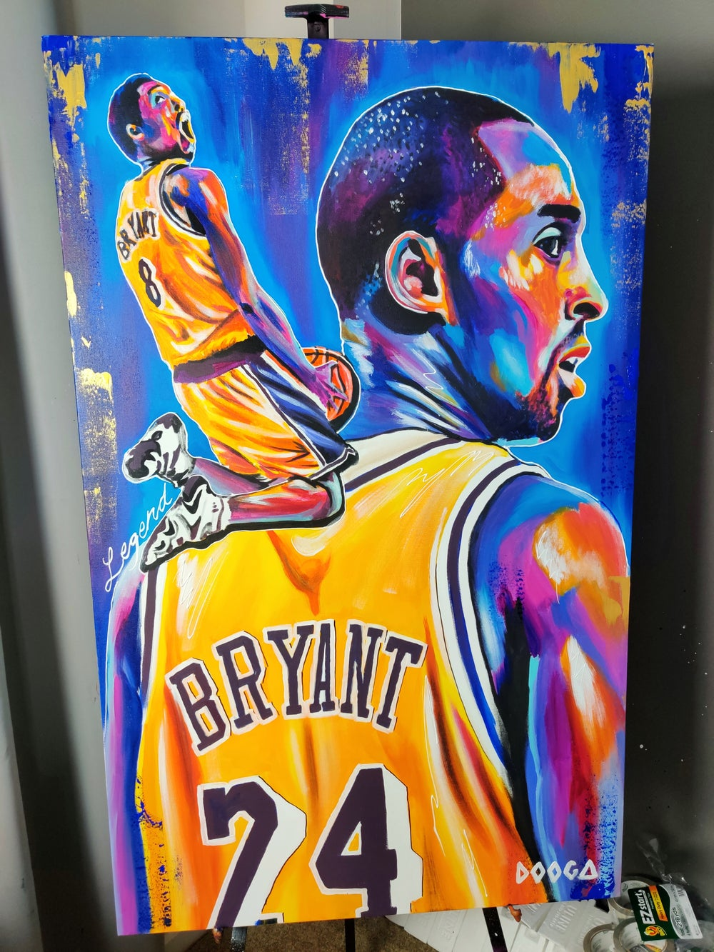 Image of Mamba mentality - Canvas Print