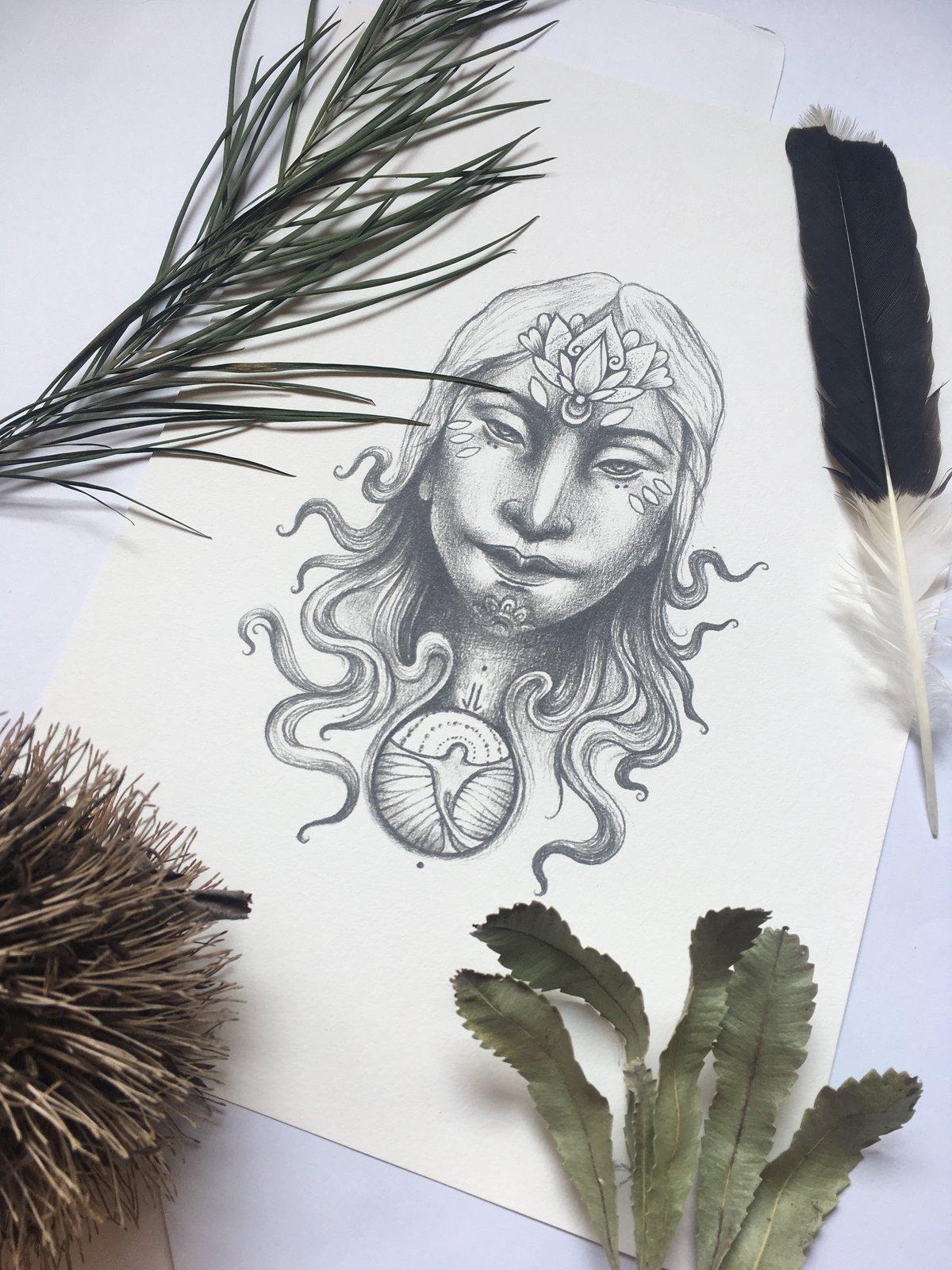 Water Druid Print
