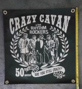 Image of CRAZY CAVAN BANNER - Temporarily out of stock