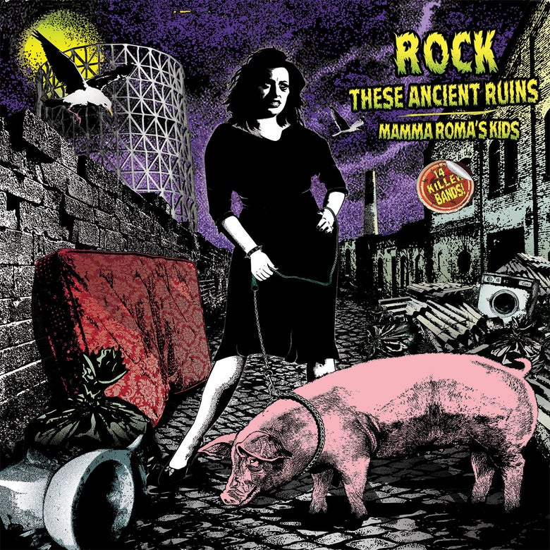 "Image of NEW! ""ROCK THESE ANCIENT RUINS ROMA'S KIDS"" COMP LP"